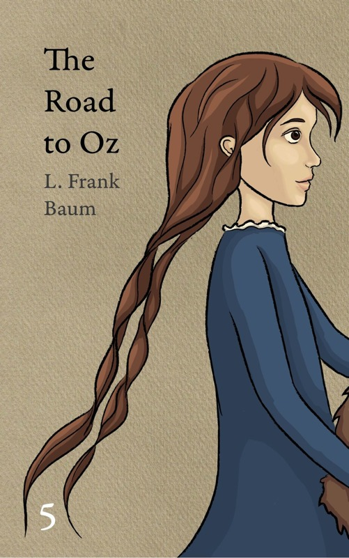 The cover of OZ book 5 showing Dorothy
